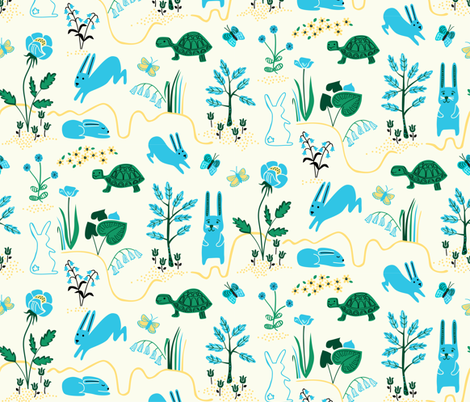Butterfly Hop fabric by chris_jorge on Spoonflower - custom fabric