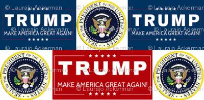 Presidential Seal  Donald Trump