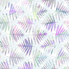 Hawaiian Batik Ferns Lavender 150