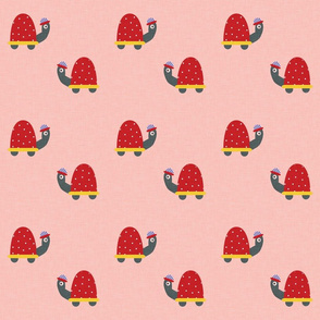 Tortoise Pink