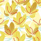 Yellow Crocus Joy (white)