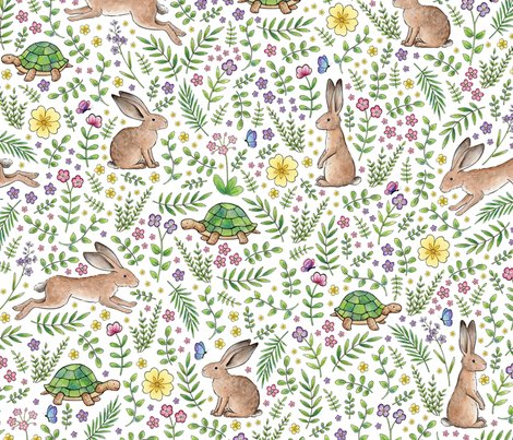 Rrrrspring-time-tortoise-and-hares-150-contest-entry-hazel-fisher-creations_shop_preview