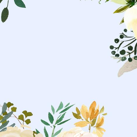 "21"" Meadow - Light Blue fabric by shopcabin on Spoonflower - custom fabric"