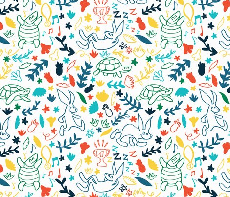 Rtortoise_and_hare_para_spoonflower_shop_preview