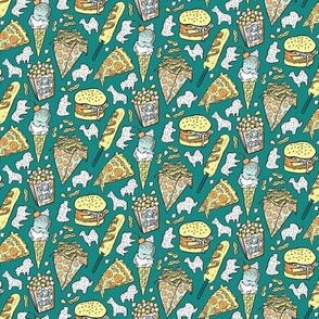 Food Circus! in Teal