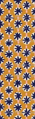 Sashiko Stars* (Gold Seal) || stitch stitching needlework boro embroidery stars stripes circles geometric organic boho mustard