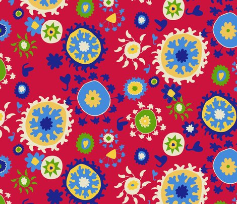 Suzani-half-drop-red-background-blue-yellow-white-01_shop_preview