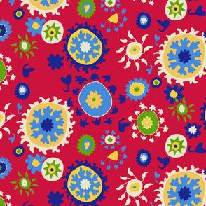 Suzani Overall Pattern