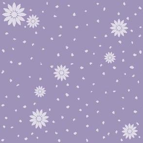 Wild Daisies: Medium Violet 5