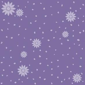 Wild Daisies: Medium Violet 7