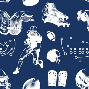 American Football // Navy // Large