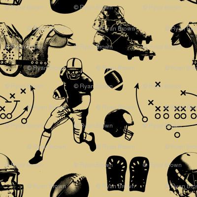 American Football // Tan // Large