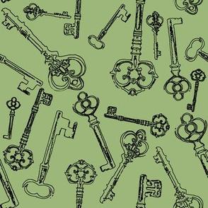 Stylized Antique Keys // Eu de Nil // Large