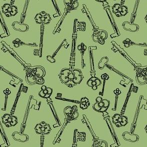 Stylized Antique Keys // Eu de Nil // Small