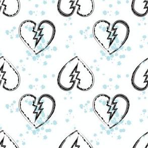 broken hearts aqua