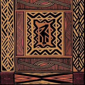 African Quilt Rust