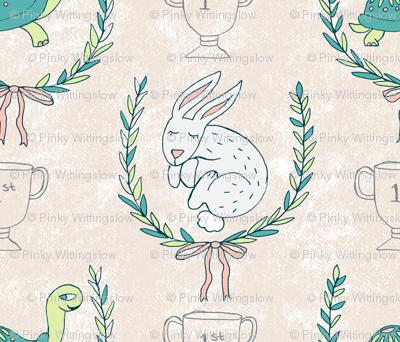 Tortoise & Hare Nursery - Natural