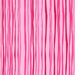 Pink Stripes Vertical