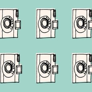 camera plush // cut and sew plush pillow
