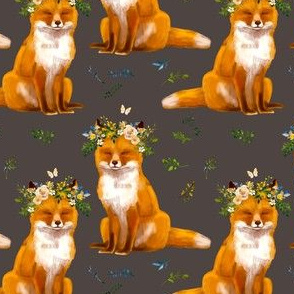 "4"" Bohemian Spring Fox - Brown"