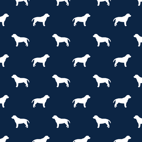 labrador retriever pet quilt b silhouette dog breed quilt coordinates fabric fabric by petfriendly on Spoonflower - custom fabric
