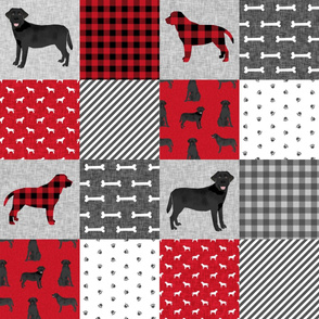 black lab cheater pet quilt a dog breed quilt pattern wholecloth labrador retrievers