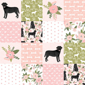 black lab cheater pet quilt d dog breed quilt pattern wholecloth labrador retrievers