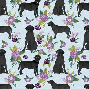 black labrador coordinate pet quilt c dog breed floral labradors fabric