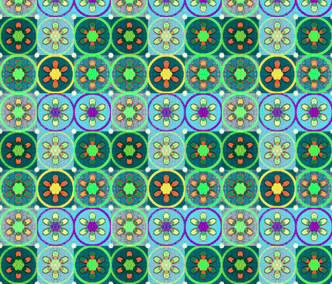 indo-persian 347 fabric by hypersphere on Spoonflower - custom fabric