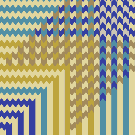 Persian Gingham (1) fabric by david_kent_collections on Spoonflower - custom fabric