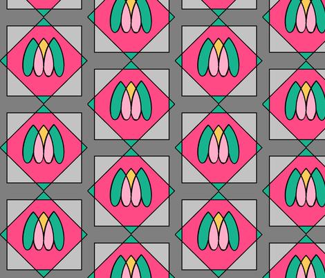 artdeco window panes fabric by jodireaves on Spoonflower - custom fabric