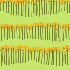 lion + mouse_trees celery green