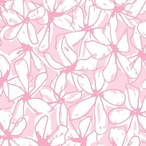 Abstract Floral- Light Pink