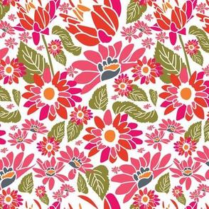 Floral wonders - Pinks