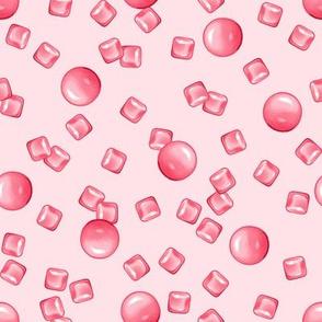 PINK gum on PINK