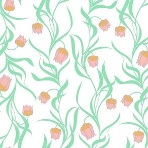 Simple Floral Tulip