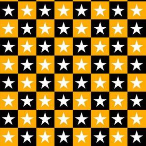 High Contrast Yellow Stars