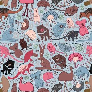 Aussie Critters - Blue