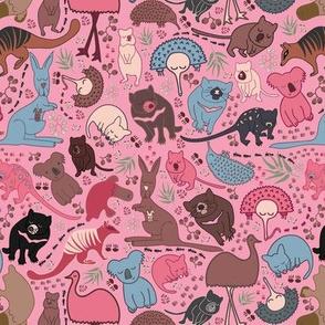 Aussie Critters - Pink