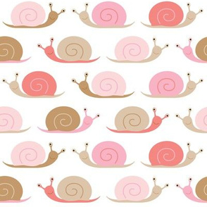 happy snails - pink