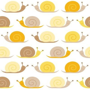happy snails - yellow