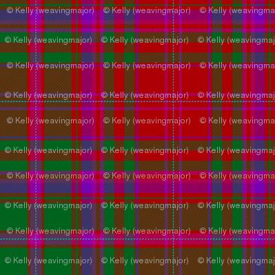 "MacDougall tartan #8, 6"", Wilson's of Bannockburn"