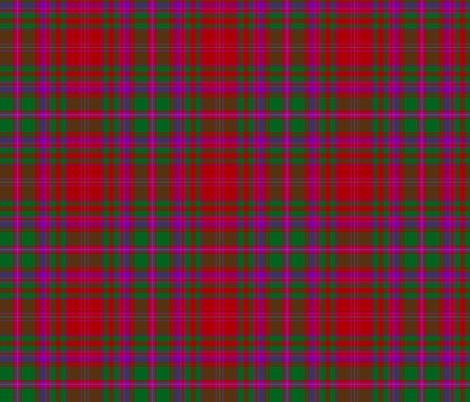"MacDougall tartan #8, 6"", Wilson's of Bannockburn fabric by weavingmajor on Spoonflower - custom fabric"