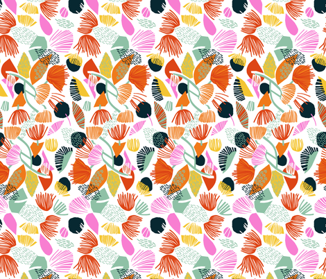 Bon bon fabric by mirjamauno on Spoonflower - custom fabric