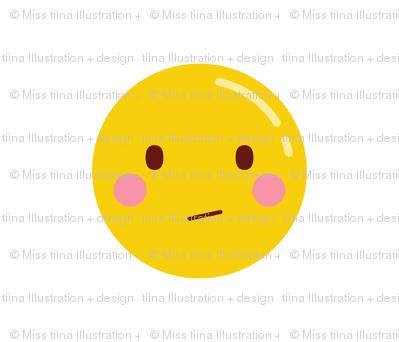 cheeky emoji faces confused