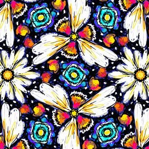 crazy daisy kaleidoscope