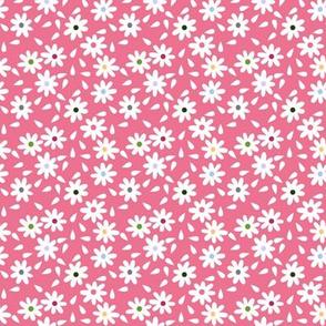 Flour Sack Florals in Pink
