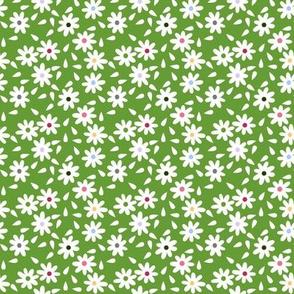 Flower Sack Florals in Green