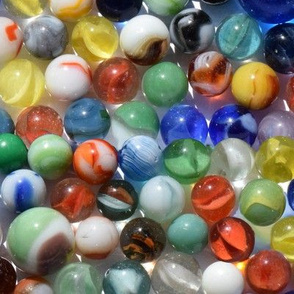 Larger Vintage Marbles