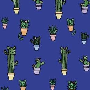 CATcus (Cat Cactus) - Indigo Variant